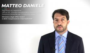 Intervista a Matteo Daniele, ex tirocinante MAECI-MUR-CRUI presso la Santa Sede, Segretario di Legazione al MAECI