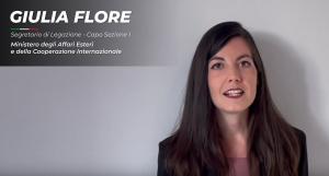 Intervista a Giulia Flore, ex tirocinante MAECI-MUR-CRUI a Buenos Aires, Segretario di Legazione al MAECI
